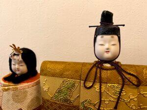 私(母親)のひな人形
