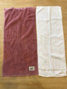 タオル大きさ比較